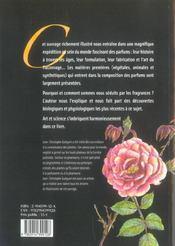 L'Odyssee Des Parfums ; De La Therapeutique A L' Esthetique - 4ème de couverture - Format classique