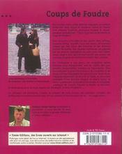 Coups de foudre ; les 50 plus belles histoires d'amour - 4ème de couverture - Format classique