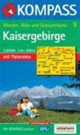 Kaisergebirge ; 1/50.000 ; n.9 - Couverture - Format classique