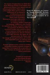 Destination ténèbres - 4ème de couverture - Format classique
