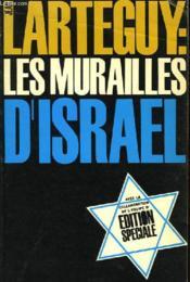 Les murailles d'Israël - Couverture - Format classique