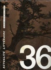 Actualite Litteraire 36 - Couverture - Format classique