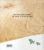 L'oiseau de papier - 4ème de couverture - Format classique