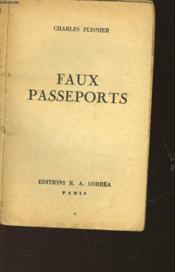 Faux Passeports - Couverture - Format classique