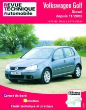 Rta 680.2 Vw Golf V Tdi Depuis 11/2003 - Couverture - Format classique