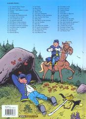 Les tuniques bleues t.47 ; les Nancy Hart - 4ème de couverture - Format classique