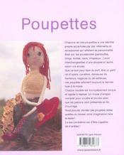 Poupettes - 4ème de couverture - Format classique