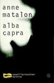 Alba Capra - Couverture - Format classique