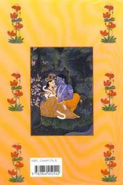Le Livre Des Aphrodisiaques Indiens - 4ème de couverture - Format classique