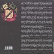 Deux siecles de rite ecossais en france 1804-2004 - 4ème de couverture - Format classique