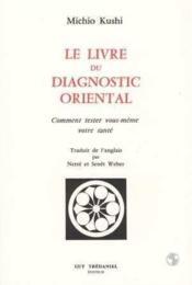 Livre Du Diagnostic Oriental - Couverture - Format classique