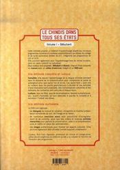 Le chinois dans tous ses états t.1 - 4ème de couverture - Format classique