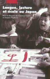 Langue, lecture et école au japon - Intérieur - Format classique