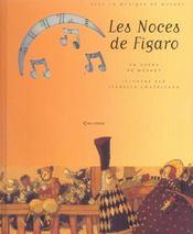 Les noces de Figaro - Intérieur - Format classique