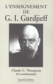 L'enseignement de G. I. Gurdjieff - Intérieur - Format classique