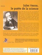 Jules verne ; le poete de la science - 4ème de couverture - Format classique