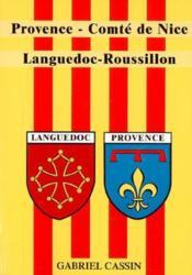 Provence - comte de nice - languedoc - roussillon - Couverture - Format classique
