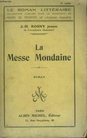 La Messe Mondaine. - Couverture - Format classique