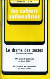 Les Cahiers Rationalistes N°348 - Le Drame Des Sectes - Couverture - Format classique
