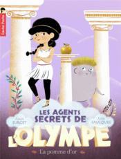 Les agents secrets de l'Olympe T.1 ; la pomme d'or - Couverture - Format classique