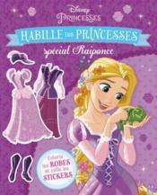 Raiponce ; habille tes princesses - Couverture - Format classique