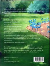 Mémoires de chaises - 4ème de couverture - Format classique