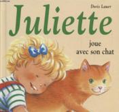 Juliette joue avec son chat - Couverture - Format classique