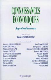 Connaissances Economiques, Approfondissements - Couverture - Format classique