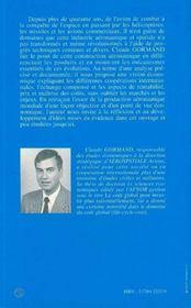 L'Industrie Aeronautique Et Spatiale ; Logique Economique Et Logique De Marche - 4ème de couverture - Format classique