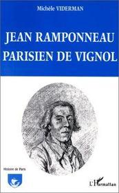 Jean ramponneau parisien de vignol - Intérieur - Format classique