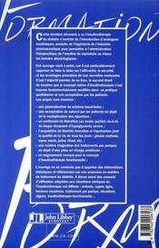 Les analogues de l'insuline - 4ème de couverture - Format classique