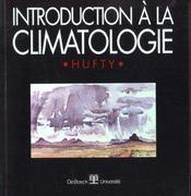 Introduction à la climatologie - Intérieur - Format classique