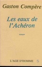 Les Eaux De L'Acheron - Couverture - Format classique
