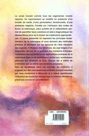Les Canaux Guerisseurs ; 12 Cours De Radionique - 4ème de couverture - Format classique