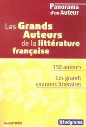 Les Grands Auteurs De La Litterature Francaise - Intérieur - Format classique