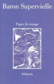 Pages de voyage - Intérieur - Format classique