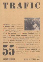 Revue Trafic N.55 - Intérieur - Format classique