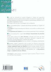 Hygiene Et Soins Infirmieres 2eme Edition (2e édition) - 4ème de couverture - Format classique