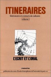 Ecrit Et L'Oral - Couverture - Format classique