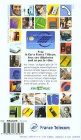Prague et la republique tcheque 1999, le petit fute (edition 3 - 4ème de couverture - Format classique