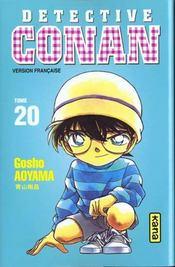 Detective Conan T20 - Intérieur - Format classique