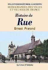 Rue (Histoire De) - Couverture - Format classique