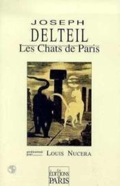 Les chats de paris - Couverture - Format classique