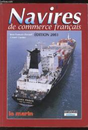 Navires de commerce francais 2003 - Couverture - Format classique