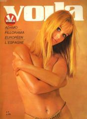 Voila Magazine N° 696 - Adamo - Fillorama Europeen - L'Espagne - L'Agenda D'Un Play-Boy... - Couverture - Format classique