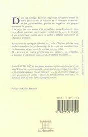 Le Jardin D'Enfance - 4ème de couverture - Format classique