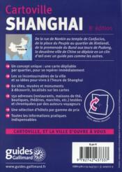 Shanghai - 4ème de couverture - Format classique