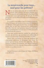 La miséricorde pour tous... sauf pour les prêtres ? - 4ème de couverture - Format classique