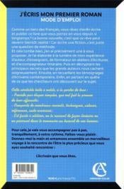 La bible de l'apprenti auteur ; faites exploser votre créativité - 4ème de couverture - Format classique