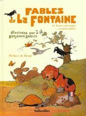 Fables de La Fontaine ; le lièvre et la tortue... et autres fables - Intérieur - Format classique